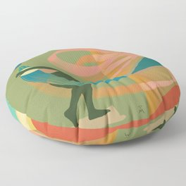 Moon Thrower 3 / Discobolus Floor Pillow