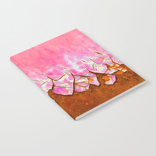 Pink and Rust Notebook