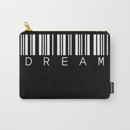 barcode DREAM black Carry-All Pouch