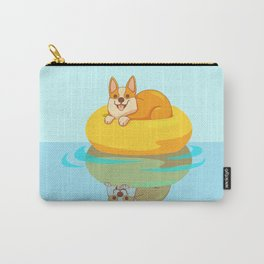 Summer Corgi Carry-All Pouch