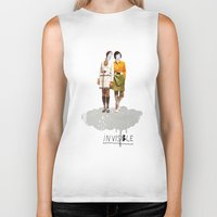 collage Biker Tanks featuring Invisible | Collage by Julien Ulvoas