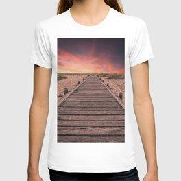 Sunset at Dungeness T-shirt