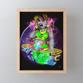 Universal Frequencies Framed Mini Art Print