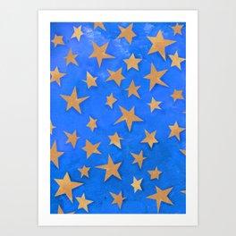 The Stars of Saint Chapelle Art Print