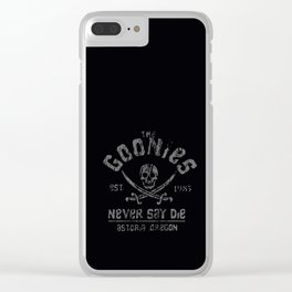 goonies Clear iPhone Case