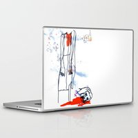 dramatical murder Laptop & iPad Skins featuring Murder by Mary Naylor