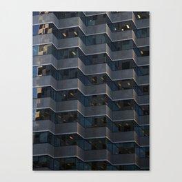 Tesselated Windows Canvas Print