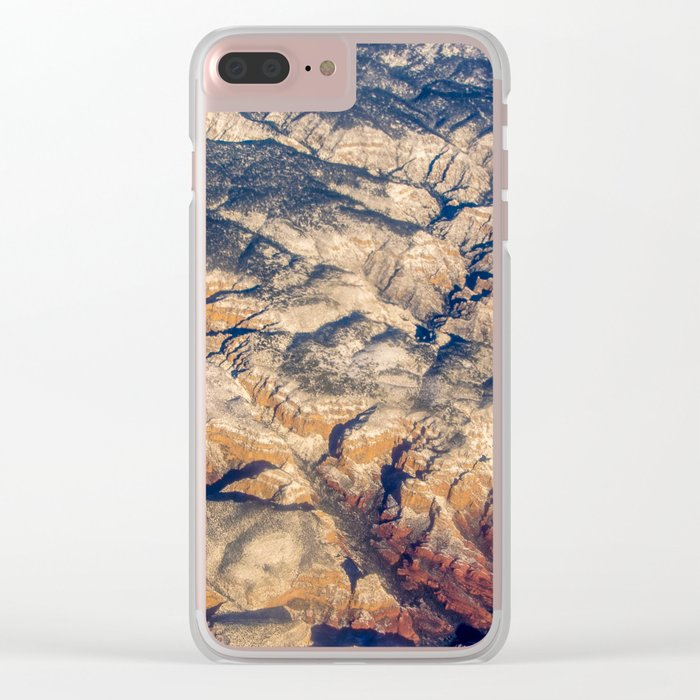Mars or Earth Clear iPhone Case
