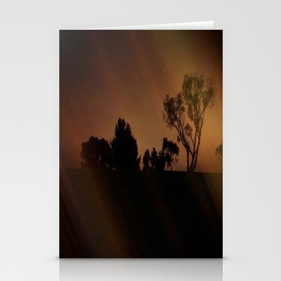 Mysterious Night Stationery Cards
