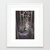 happiness Framed Art Prints featuring Happiness by GlendaTse