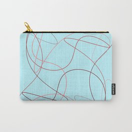 Divine Pink Lines Carry-All Pouch