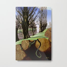 Avon River, Christchurch Metal Print