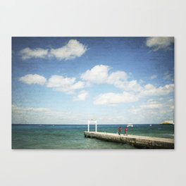 Carribean sea 7 Canvas Print