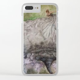 Dancer in the Storm Clear iPhone Case