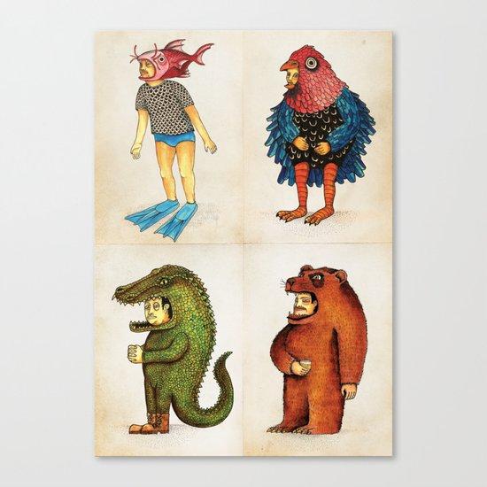 Costumes - Animalados Canvas Print