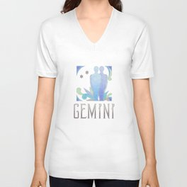 Gemini - air sign Unisex V-Neck