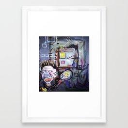 Cadre Framed Art Print