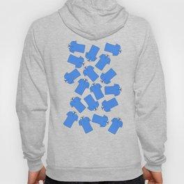 Shopping Blue Poloshirts Hoody