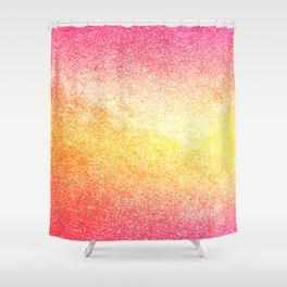 Pink Rose Gold Metallic Glitter - v2 Shower Curtain