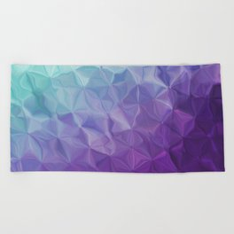 Abstract painting color texture Beach Towel
