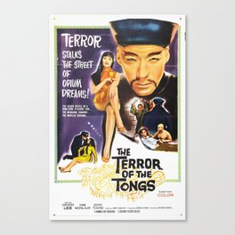 The Terror of the Tongs Canvas Print