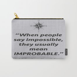 Improbable Carry-All Pouch