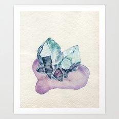 Quartz Twins Art Print