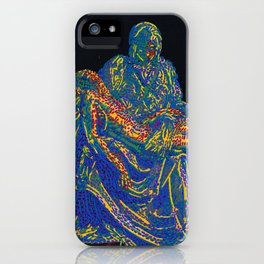 Pietà iPhone Case