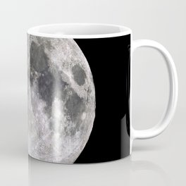 The Full Moon Super Detailed Print Coffee Mug