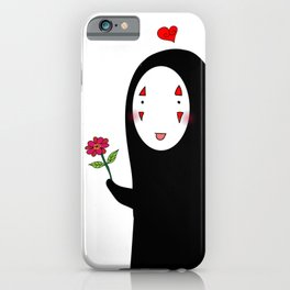 Kaonashi : Be My Valentine iPhone Case