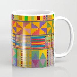 Kente Inspired Coffee Mug