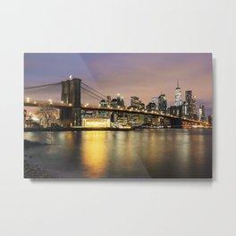 New York Dawn Metal Print