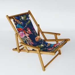 FLORAL AND BIRDS XII Sling Chair