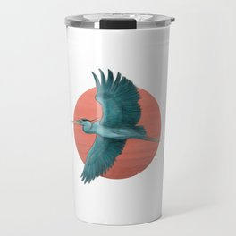 Blue Herron Travel Mug