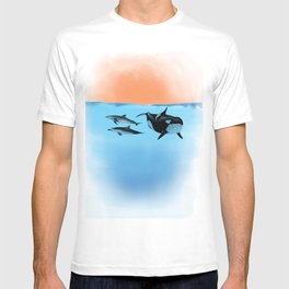 Orca and Dolphin T-shirt
