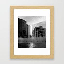 Las Vegas Hotel Framed Art Print