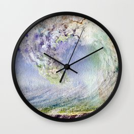 Fury Tsunami by Maureen Donovan Wall Clock