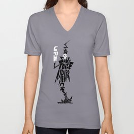 lord death soul eater Unisex V-Neck
