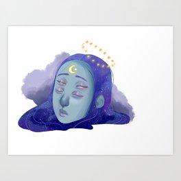 Galactic Awakenings Art Print