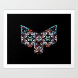 Trickster Fox Art Print