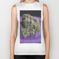 medical Biker Tanks featuring Jenny's Kush Medical Weed by BudProducts.us