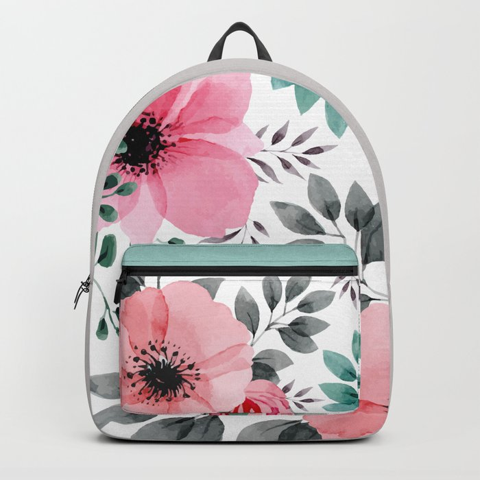 FLOWERS WATERCOLOR 14 Backpack