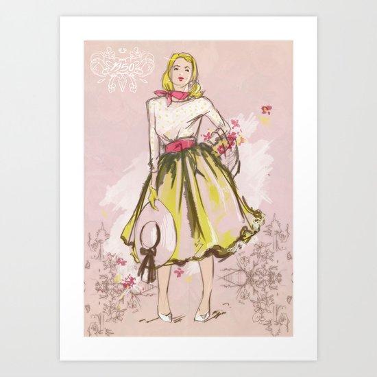 50s Art Print