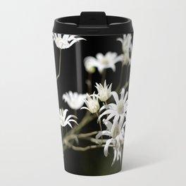Flannel Flowers Travel Mug