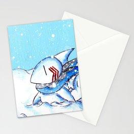Seaside Snowfall Stationery Cards