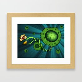 DNA & Dirigibles Framed Art Print