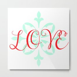 Beautiful Love Metal Print
