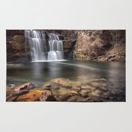 Waterfall country South Wales Rug