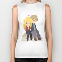 ouat Biker Tanks featuring OUAT - Daddy Charming by Choco-Minto