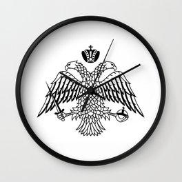 Greek Orthodox Church religion flag athos mountain Wall Clock